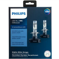 H4XULED Philips Ultinon LED - Pack of 2 H4 Headlights 200% Brighter 11342XUX2