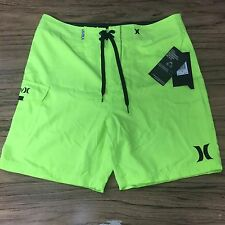 Hurley Neon New Board Shorts Mens Size 32