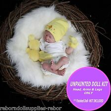 Baby Kit to make a reborn doll ~ reborn doll kit~ Super Cute make your own 19""