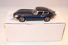 Tenariv No 13A Jaguar E 1961 Coupe blue metallic kit resin perfect mint in box