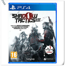 PS4 Shadow Tactics: Blades of the Shogun SONY PlayStation Kalypso Strategy Games