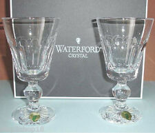 Waterford Grafton Street Bolton White Wine Glasses Set of 2 #143779 New In Box