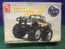 AMT 1/25 Thunderbolt One Monster Truck Model Kit (No Decals or Instructions)