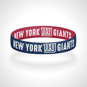 Reversible New York Giants Bracelet Wristband Ever Upwards Go Giants