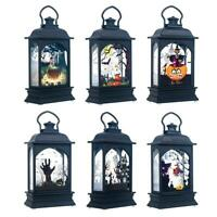 Halloween Hanging LED Lamp Atmosphere Night Lights Party Bar  Decoration Props