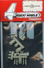 Reheat Modells 1:48 Japanese Pilots 'Army & Navy' WWII #RH102