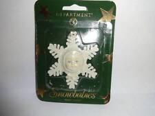 Christmas Tree Holiday Ornament Department 56 Snowflake Snowbabies Baby Flake