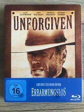 ERBARMUNGSLOS(Unforgiven)BluRay Steelbook-Geprägt-NEUWERTIG.