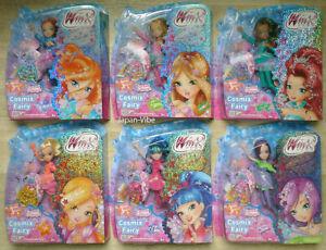 Winx Club Cosmix Fairy 6x Dolls Full Set Series 8 Bloom Stella Tecna Musa Layla