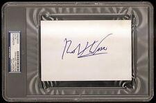 Robert Wise Best Director Oscar Award Winner Signed Auto 4x6 Index Card PSA/DNA