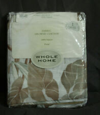 "Whole Home Fabric Shower Curtain ""Frond""  New in Package"