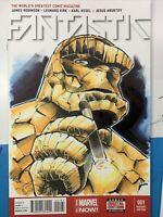 Fantastic Four 1 Original Sketch Cover Variant