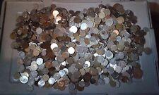 Lot de 8,8 Kg de Monnaies du Monde a Trier