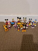 Offical Disney PVC Figure Bundle Cake Toppers Mickey Goofy Minnie Pluto Donald