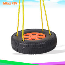 Children Outdoor Tire Swing Set for Tree, Patio and Backyard