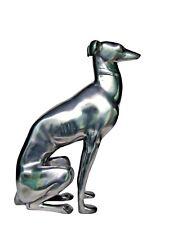 Large Metal Greyhound Dog Statue Figurine Home & Garden 20 inches
