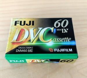 Fuji DVC DVM60 60 Minute Mini DV Fugifilm