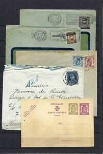 [LG16128] Belgium Nice lot Covers & Postal cards UNG