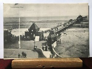 Postcard Skegness Pier Real Photograph Posted 1903
