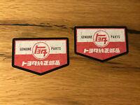 2x Toyota Aufkleber Vintage Retro Classic Kanji FJ 40 Landcruiser Oldtimer #370