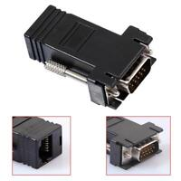 VGA Extender Female/Male to Lan Cat5 Cat5e/6 RJ45 Ethernet Female Adapter Tool