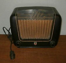 PHILIPS Philetta Bx 290 Röhrenradio Radio mit Bakalitgehäuse