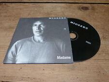 MIOSSEC - MADAME !!!!!!!!!!!!!!! ! RARE PROMO CD!!!!
