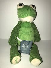 "Scentsy buddy Ribbert the frog 16"" w/scent pack"