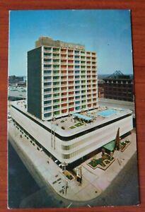 Bel Air Motor Hotels East, St Louis, Missouri - vintage chrome postcard