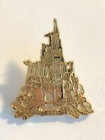 WDW - Cast Lanyard Pin Collection 1 - Cinderella Castle Disney Pin (B9)