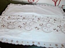 Bed Linens English Embroidery Antique Linens