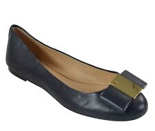 31090eb57bcd Tory Burch Chase Matte Glove Nappa Ballet Flats Tory Navy Size 9