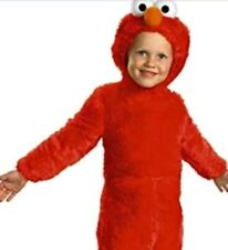 Elmo plush Costume Toddler Baby 3T 4T Sesame Street Halloween soft New