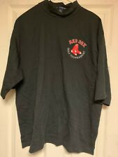 Boston Red Sox Golf Tournament Mock Turtleneck Shirt XL