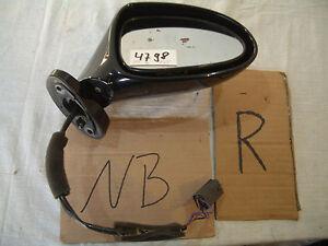 MX5  MX 5  Spiegel  schwarz A3F Beifahrerseite  E-Spiegel rechts  NB  NBFL 4798