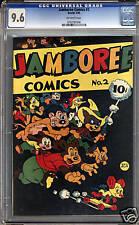 Jamboree Comics #2  CGC 9.6  NM+  Universal CGC #0763787006