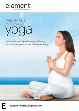 "Element: Prenatal and Postnatal Yoga DVD R4 New & Sealed ""sale"""
