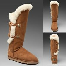 Australia Luxe Collective Women's Nordic Angel Shearling Chestnut X Tall Boots