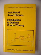 Introduction to Optimal Control Theory 1982