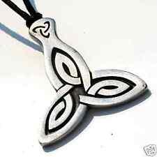 20H Pewter TRIQUETRA Celtic IRISH Trinity Knot PENDANT