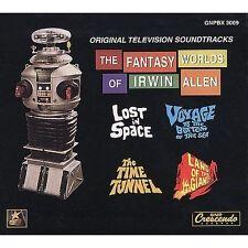 The Fantasy Worlds of Irwin Allen Box CD Lost in Space Soundtrack John Williams