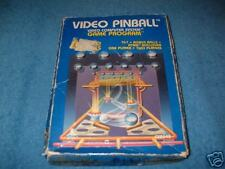 COMPLETE BOXED VIDEO PINBALL GAME  ATARI 2600 & 7800