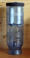 """New Berkey Light w/ Four 9"""" White Ceramic Water Filters by British Berkefeld"""