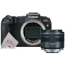 Canon EOS RP Mirrorless Digital Camera Body Black +  RF 35mm IS Macro STM Lens