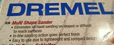 Dremel Multi Shape Contour Sander / F01360001K/3R, used a couple of times