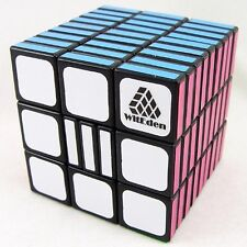 WitEden 3x3x9 Fully Functional Cube Black Version II Educational Kids Toy