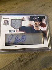 Justin Bullock 2014 Panini Usa Baseball Acetate Jersey Autograph #65/99 Auto