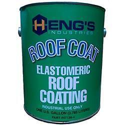 American Motorhome RV Hengs Elastomeric Roof Coating 1 US Quart