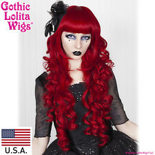Gothic Lolita Wigs® Duchess Elodie™ Collection - Crimson Red- 00054