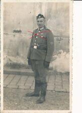 Nr.21847 Porträt Foto PK Deutscher Polizei Soldat